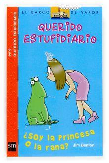 LEOTECA - Viky B.,  la chica más irónica y divertida de Primaria, vuelve a hacer de las suyas. En esta ocasión lidiará con los cuentos de hadas, para responder a una difícil pregunta: ¿ella es la princesa o la rana? Una novela escrita en forma de diario que muestra las complicaciones en la búsqueda del amor.