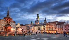Dramatic Evening - Ceske Budejovice, South Bohemia,