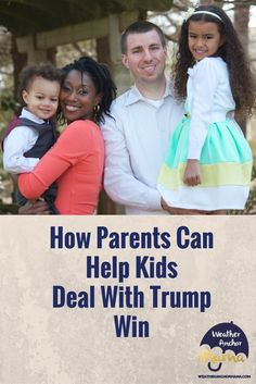 Donald Trump is the new President. Now that the election is over, how can parents help children deal with Trump win? Election Is Over, New President, Trump Wins, Parenting Articles, Help Kids, Donald Trump, Anchor, Parents, Weather
