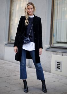 cropped jeans Anouk Yve