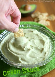 Green Sauce ....copycat recipe Cafe Ole'.....