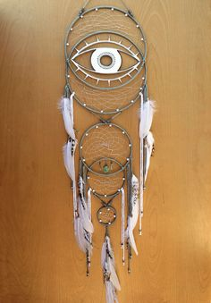 All Seeing Eye Dream Catcher