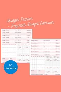 This is a digital download available directly after purchase. It can't be exchanged or returned after purchase for any reason.#couponfamily #moneytips #motivation #couponaddict #financialliteracy #renewableenergy #shoplocal #credit #insurance #affordablefashion #realestate #goals #moneysavingtips #deal #financialgoals Calendar Worksheets, Budgeting Worksheets, Financial Literacy, Financial Goals, Money Tips, Money Saving Tips, Perfect Money, Budget Planer, Planner Inserts