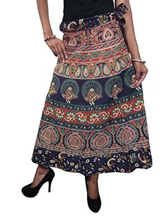Check out traditional printed Indian Wrap skirts, Wrap Around Skirts, Boho Skirts and ethnic tribal maxi skirts at mogulinterior located in Fort Myers, Florida Beach Wrap Skirt, Wrap Around Skirt, Boho Gypsy, Hippie Boho, Fashion Sale, Boho Fashion, Summer Skirts, Summer Dresses, Summer Wraps