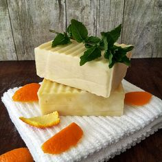 Tangerine Peppermint Soap by paulaparrish on Etsy, $6.50