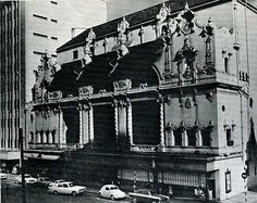 Alhambra Theatre Cape Town in its heyday Old Photos, Vintage Photos, Back In Time, Historical Pictures, African History, Beautiful Buildings, The Good Old Days, Cape Town, South Africa