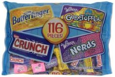 Nestle Halloween Candy, Wonka Assorted 116 Pieces, 48 Ounce