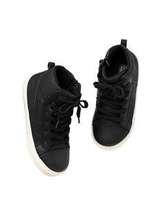 Gap   Perforated hi-top sneakers