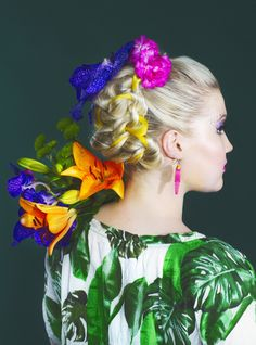 """TROPICALICIOUS""  Photos: Iiris Heikka Hair and style: Susanna Poméll Make-up: Pinja Pennanen"