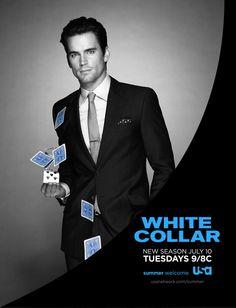 """White Collar"" - giving me a whole new appreciation for Matt Bomer!"