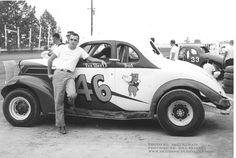 Harold Amp Tina Mauck With Stock Car 89 Ca Late 1950s