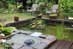 Entspannung pur im selbst erschaffenen Paradies - so legen Sie ihren eigenen Terrassen-Teich an