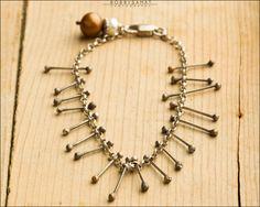 Sterling Silver Bracelet/Anklet - Jewelry by Jason Stroud.