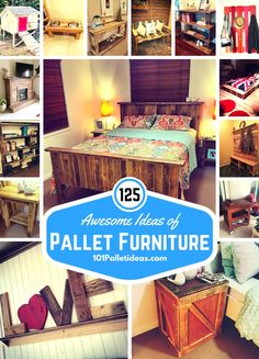 125 Awesome DIY Pallet Furniture Ideas | 101 #Pallet Ideas