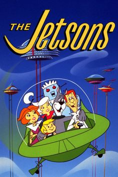 The Jetsons was a 60s cartoon featuring a family from the future who rode in rocket ships and had a robotic maid.