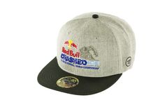 Red Bull Crashed Ice Flat Cap Warrior