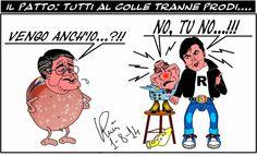 Graffiti satirici...: Il NO a Mortadella....