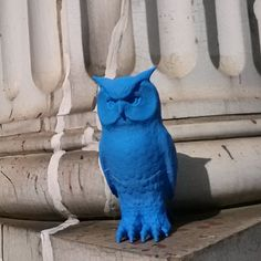 3D Printable pigeon scarers - owl  by CEL Robox