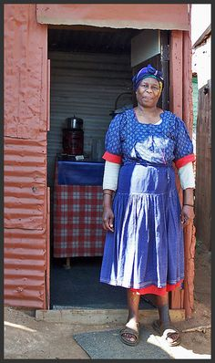 Soweto Grandmother by CanmoreKevin