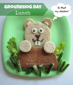 Groundhog Day Lunch from Creative Food