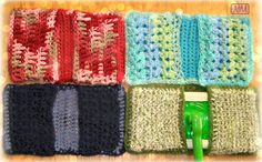 Crochet Swiffer Re-Usuable Pads Multipurpose by NiftyMumzyStudios