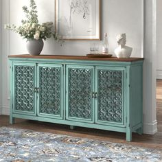 Dining Room Sideboard, Living Room Cabinets, Shoe Storage Design, Mirror Buffet, Family Room Decorating, Countertop Materials, Eclectic Decor, How To Distress Wood