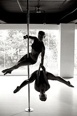 doubles pole fitness