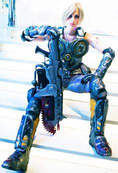 Kick-ass Anya Stroud cosplay!