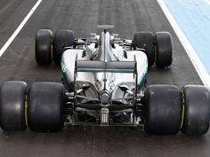 Mercedes had their first taste of Pirelli's wider 2017 tyres at Paul Ricard on…