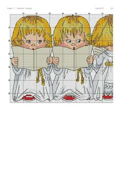 Zz Cross Stitch Angels, Cross Stitch Charts, Xmas Cards, Betty Boop, Diy And Crafts, Knitting, My Love, Fate, Fictional Characters