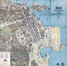 Architectural map of Rio de Janeiro