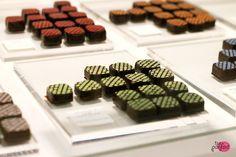 pistachio x dark chocolate truffles :: Nadège Patisserie, Rosedale