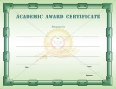 Httpcertificate templateemployee recognition awards academic excellence award certificate template will encourage the student to do better performance once with printable academic award certificate is yelopaper Image collections