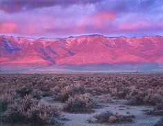 Beautiful! Steens Mountain sunrise-just outside Burns, Oregon......