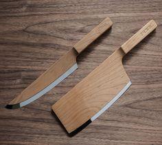Maple knife set.