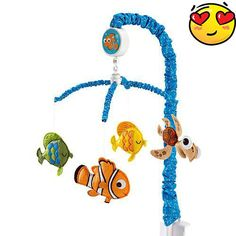 Disney Finding Nemo Luxury Baby Crib Musical Mobile 85214095332 for sale online Disney Babys, Baby Disney, Disney Pixar, Baby Boy Nurseries, Baby Cribs, Nursery Themes, Nursery Ideas, Nursery Decor, Nursery Inspiration