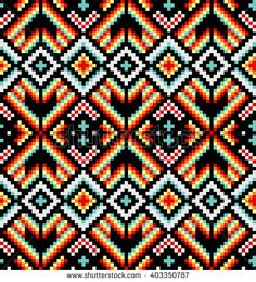 Find Trendy Contemporary Ethnic Seamless Pattern Embroidery stock images in HD and millions of other royalty-free stock photos, illustrations and vectors in the Shutterstock collection. Perler Patterns, Loom Patterns, Quilt Patterns, Knitting Patterns, Crochet Patterns, Hand Embroidery Stitches, Cross Stitch Embroidery, Embroidery Patterns, Cross Stitch Patterns