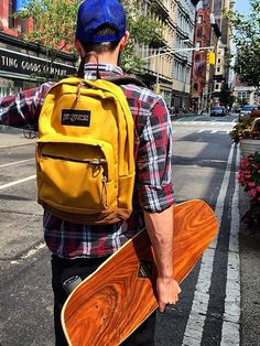 Summer in the city with the JanSport Right Pack backpack