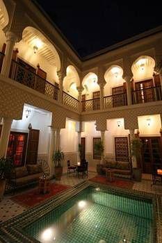 Looking forward a retourner chez nous. Je voudrais les changes comme  --> (Riad Yasmine, Marrakech, Morocco)