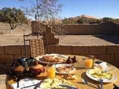 Breakfast at La Source #travel #turism #morocco