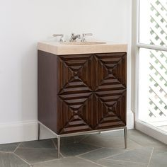 MAZE SINK CHEST   - Ambella Home  #Furniture #Bathroom #Vanity #Storage