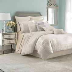 Master Bedroom bedding? Laundry by Shelli Segal® Alexa Duvet Cover - BedBathandBeyond.com