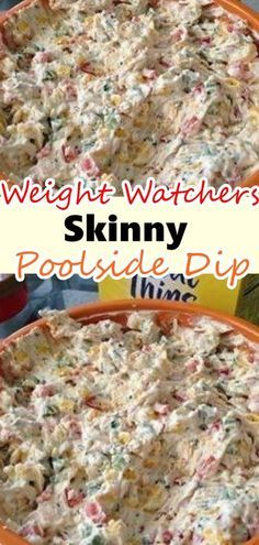 It uses lots of veggies and low fat ingredients so I did not feel guilty snacking on it. I will for sure be making this Tried and True Skinny Poolside Dip in the summer. Weight Watcher Desserts, Weight Watchers Snacks, Weight Watchers Meal Plans, Weight Watcher Dinners, Weight Watchers Dip Recipe, Weight Watchers Recipes With Smartpoints, Skinny Recipes, Ww Recipes, Cooking Recipes