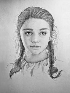 Game of Thrones : Arya - Mercedes de Bellard