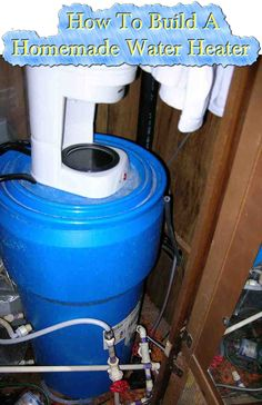 How To Build A Homemade Water Heater  Read HERE --- > http://www.livinggreenandfrugally.com/build-homemade-water-heater/