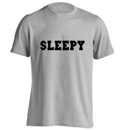 New to FloxCreative on Etsy: Sleepy sweatshirt Tshirt funny gift quote lazy tired weheartit instagram hipster tumblr bed sleep black grey maroon gift T Shirt S - 5XL 72 (12.95 GBP)