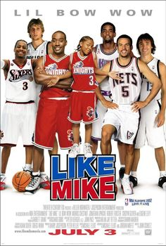 Like Mike , starring Bow Wow, Jonathan Lipnicki, Morris Chestnut, Brenda Song. A 14-year-old orphan becomes an NBA superstar after trying on a pair of sneakers with the faded initials 'M.J.' inside. #Comedy #Family #Fantasy #Sport