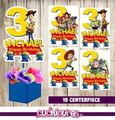 15 Toy Story centerpieces Toy Story printable centerpieces