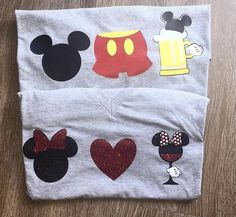 Disney Mickey Shorts Drink Epcot Food Festival Shirt