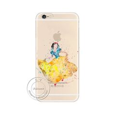 Cartoon Mickey Kissing Minnie Mouse Ariel little Mermaid Soft TPU Gel Silicon Transparent Case Cover For Apple iPhone 6 6S
